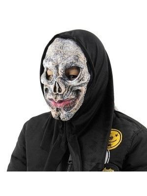 Fancy Dress, Costume Stone-Faced Skull Mask