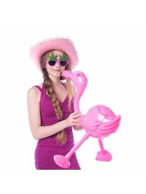 Inflatable Pink Flamingo
