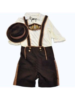 Oktoberfest Dude Fancy Dress Costume