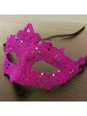 Glitzy Masquerade Mask Purple