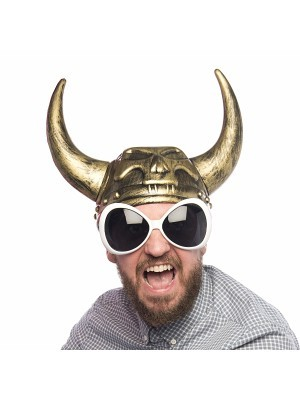 Metallic Affect Viking Gold Helmet