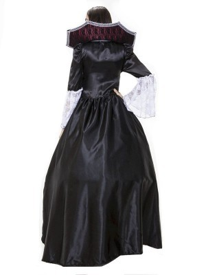 Gothic Vampire Fancy Dress Costume
