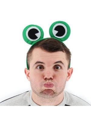 Green Frog Froggy Eyes Animal Headband