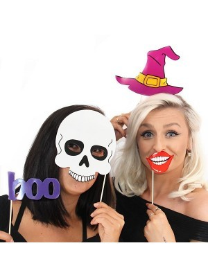 Ready Made Spooky Halloween Character Props On Sticks
