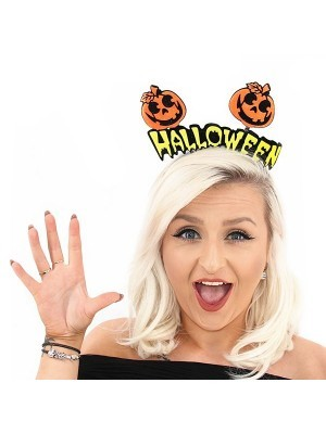 Halloween Pumpkin Headband