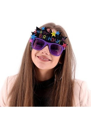 Happy Birthday Star Crown Sunglasses