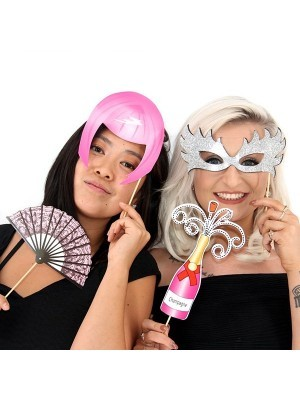 Readymade Burlesque Hen Party Props On Sticks