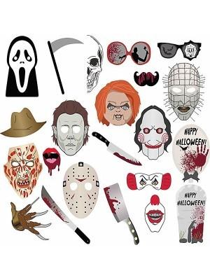 Horror Halloween Greats Props on Sticks