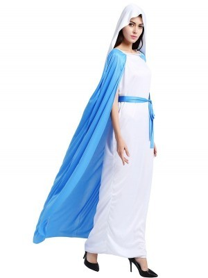 Holy Virgin Mary Fancy Dress Costume - One Size