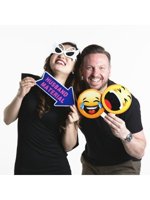 Laughing Emoji Photo Booth Prop