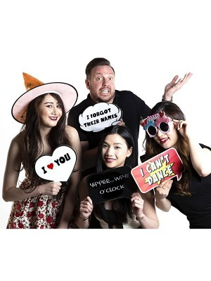 I Forgot Their Names Thought Bubble Photo Booth Prop