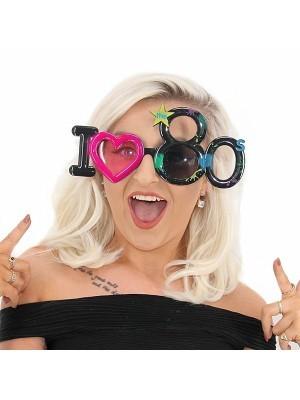 I ❤ 80s Fun Glasses