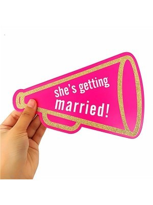 Pack Of 20 'Future Wifey' Hen Party Card Props On Sticks.
