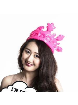 Inflatable Pink Royal Crown