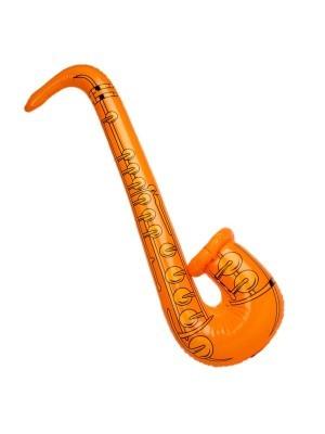 Inflatable Saxophone Orange