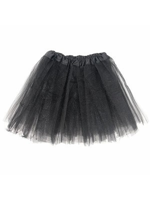 Kids Tutu Skirt - Black