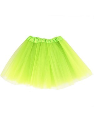 Kids Tutu Skirt - Lime Green