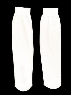 Kids Long Socks - White