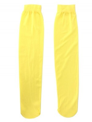 Kids Long Socks - Yellow