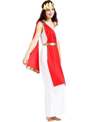 Ladies Greek Empress Fancy Dress Costume - One Size