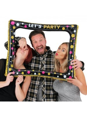 'Let's Party' Inflatable Posing Frame