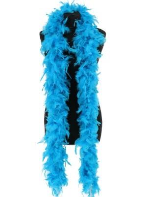 Luxury Bondi Blue Feather Boa – 80g -180cm