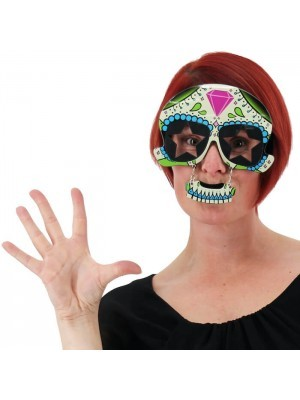 Mexican Day of The Dead Glasses
