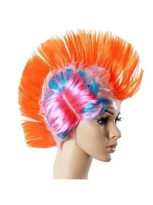 Mohican Wig Orange