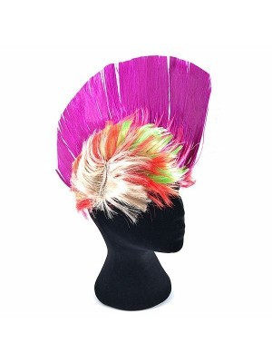 Mohican Wig Purple