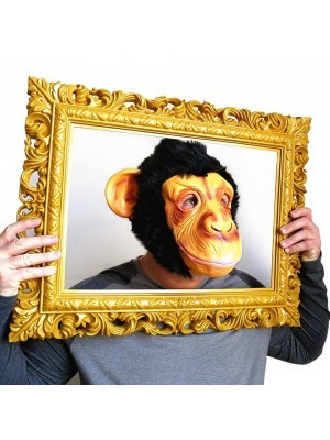 Fancy Dress Costume Monkey Head Mask