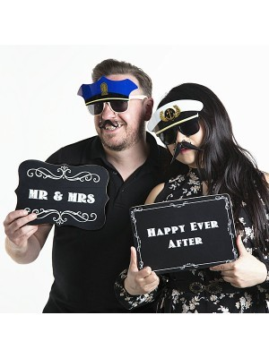 'Happy Ever After' Vintage Style Photo Booth Prop