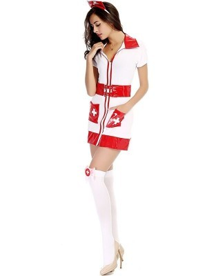Naughty Nurse Fancy Dress Costume