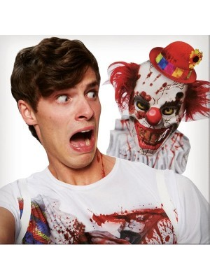 Pennywise Clown 'Selfie' T-Shirt Halloween Costume