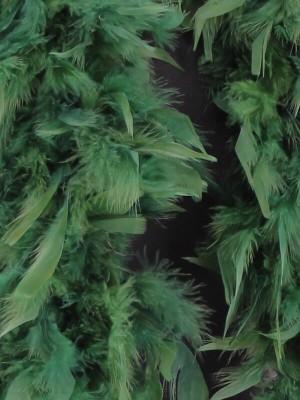 Luxury Pine Green Feather Boa – 80g -180cm