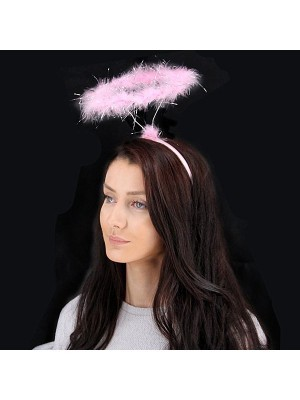 Pink Angel Halo Headband