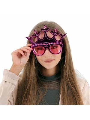 Pink Royal Crown Sunglasses