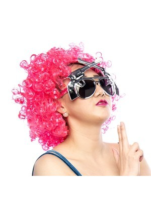 Afro Wig Pink