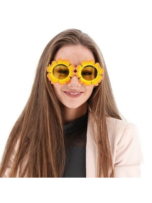Pretty Coloured Sunflower Sunglasses
