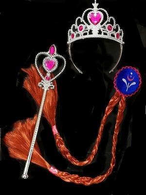 Pink Princess Accessory Set Of 3