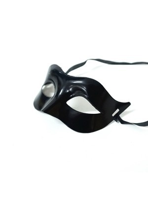 Shiny Eye Mask Black