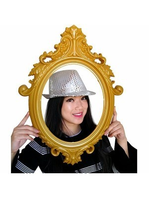 Super Cool Silver Sequin Gangster Hat
