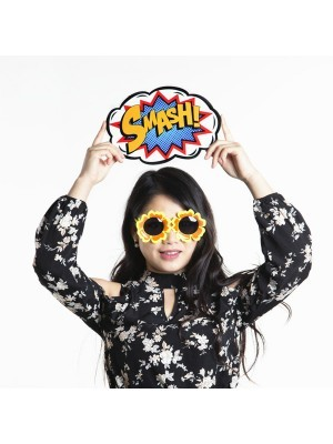 'SMASH!' Pop Art Style Photo Booth Prop