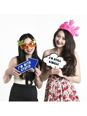 'I'm With Stupid' Word Board Photo Booth Prop