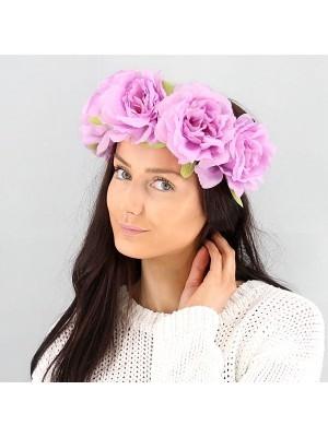 Stunning Lilac Garland Flower Headband