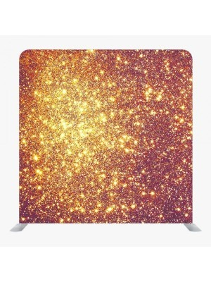 8ft*8ft Green Screen and Gold Glitter Backdrop, With or Without Tension Frame