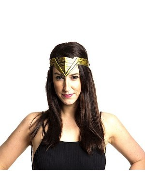 Wonder Woman Headband Gold