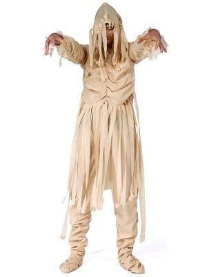 Zombie Mummy Bandage Fancy Dress Costume