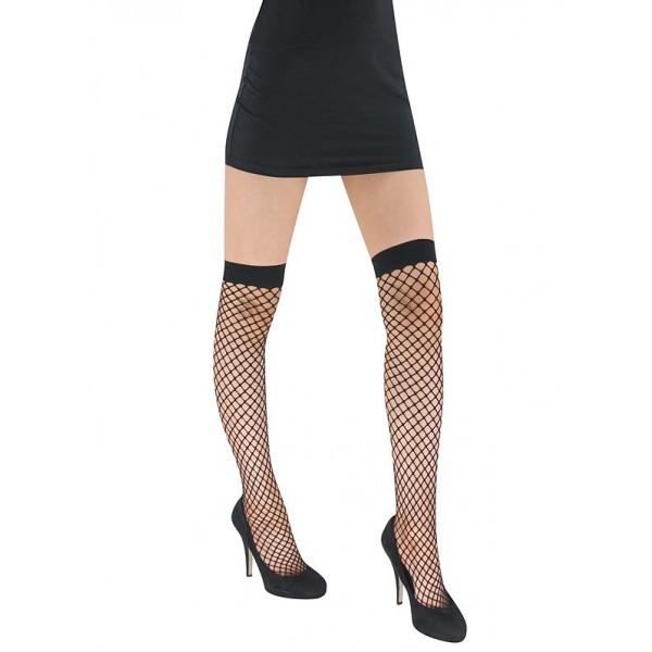 437b9cf3902ac Adult White Fishnet Stockings