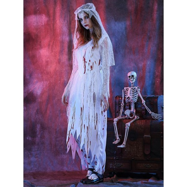Bloody Gloves Halloween  Fancy Dress Costumes Zombie Bride Costumes Props