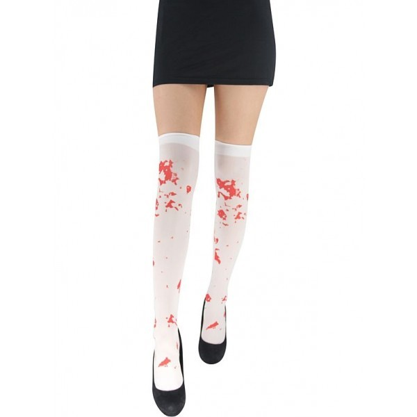 cec23a4b7e926 Adult Fake Blood Splattered Halloween Stockings